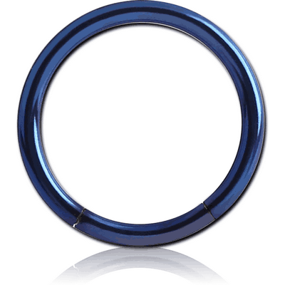 ANODISED SURGICAL STEEL SMOOTH SEGMENT RING