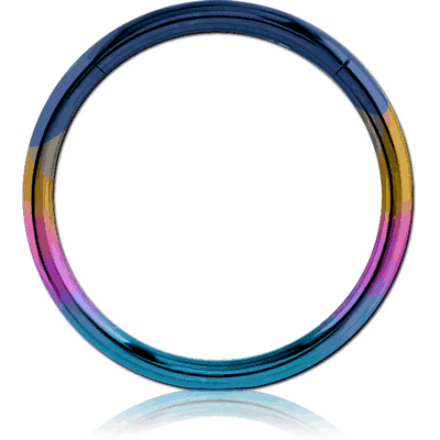 ANODISED SURGICAL STEEL HINGED SEGMENT RING