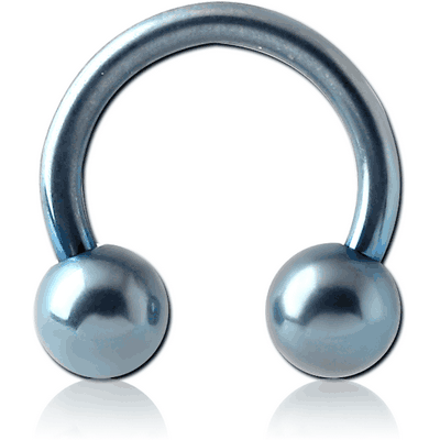 ANODISED SURGICAL STEEL CIRCULAR BARBELL