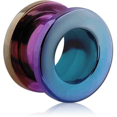 ANODISED STAINLESS STEEL THREADED TUNNEL