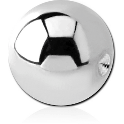 SURGICAL STEEL BALL FOR BALL CLOSURE RING BIG GAUGE