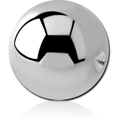 SURGICAL STEEL BALL FOR BALL CLOSURE RING