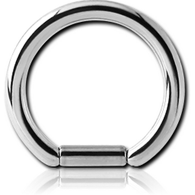 SURGICAL STEEL BAR CLOSURE RING
