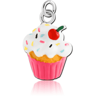 RESIN CUP CAKE CHARM