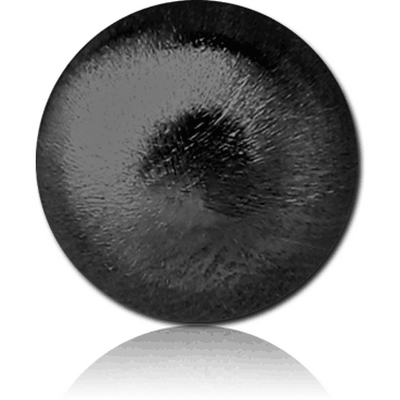 BLACK PVD COATED SURGICAL STEEL SAND BLAST MICRO BALL