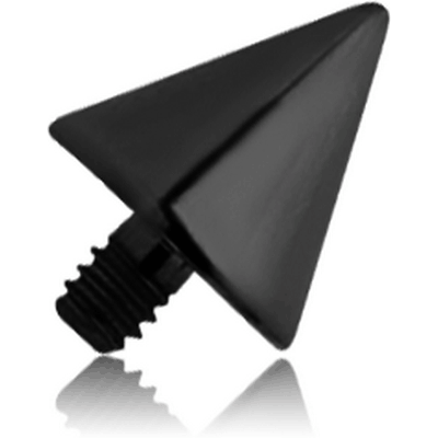 BLACK PVD COATED TITANIUM CONE FOR 1.6MM INTERNALLY THREADED PINS