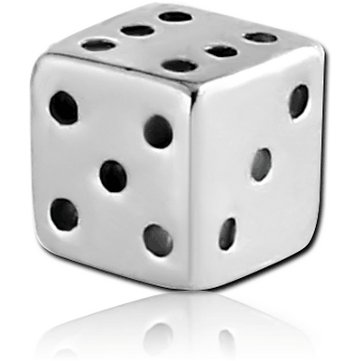 SURGICAL STEEL DICE