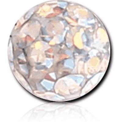EPOXY COATED VALUE CRYSTALINE JEWELLED MICRO BALL