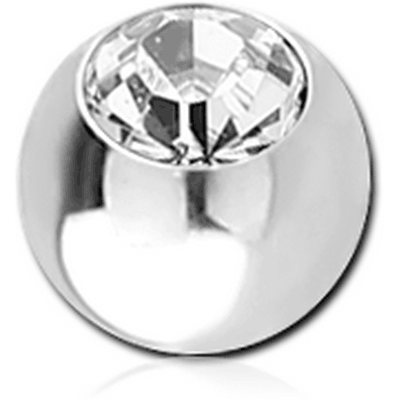 SURGICAL STEEL VALUE JEWELED MICRO BALL