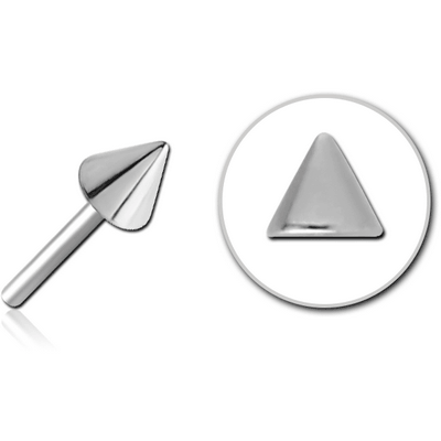 SURGICAL STEEL THREADLESS ATTACHMENT - CONE