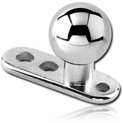 TITANIUM INTERNALLY THREADED DERMAL ANCHOR WITH BALL