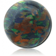SYNTHETIC OPAL BALL PIERCING