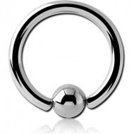 SURGICAL STEEL ANNEALED BALL CLOSURE RING PIERCING