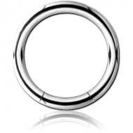 SURGICAL STEEL SMOOTH SEGMENT RING PIERCING