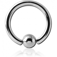 SURGICAL STEEL BALL CLOSURE RING PIERCING