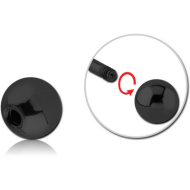 BLACK PVD COATED SURGICAL STEEL BALL