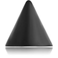 BLACK PVD COATED SURGICAL STEEL MICRO CONE PIERCING