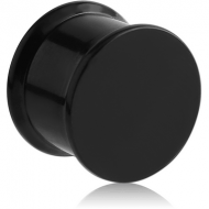 BLACK PVD COATED TITANIUM BOX PLUG