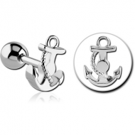 SURGICAL STEEL BARBELL - ANCHOR
