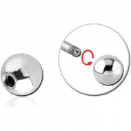 SURGICAL STEEL BALL PIERCING