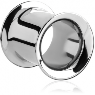 STAINLESS STEEL DOUBLE FLARED TUNNEL PIERCING