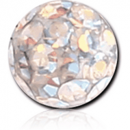 EPOXY COATED VALUE CRYSTALINE JEWELLED MICRO BALL PIERCING