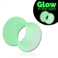 SILICONE GLOW IN THE DARK FLARED TUNNEL