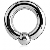 SURGICAL STEEL INTERNALLY THREADED BALL CLOSURE RING PIERCING