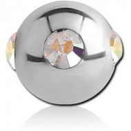 SURGICAL STEEL JEWELLED SATELLITE MICRO BALL