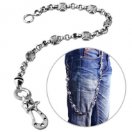 SURGICAL STEEL KOOL KATANA WALLET CHAIN