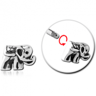 SURGICAL STEEL MICRO ATTACHMENT FOR 1.2MM THREADED PINS - ELEPHANT