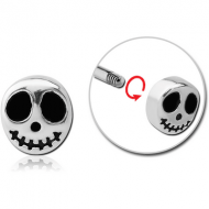 SURGICAL STEEL ATTACHMENT FOR 1.6 MM THREADED PINS - GHOST