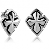 SURGICAL STEEL EAR STUDS PAIR