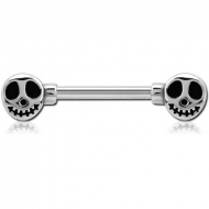 SURGICAL STEEL ATTACHMENT FORNIPPLE BAR - GHOST PIERCING