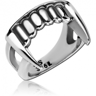 SURGICAL STEEL RING - FANG