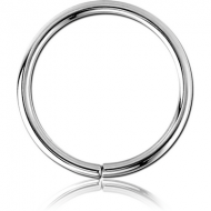 STERLING SILVER 925 SEAMLESS RING PIERCING