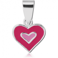 STERLING SILVER 925 PANDENT - HEART