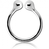 STERLING SILVER 925 ILLUSION RING