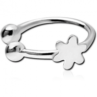STERLING SILVER 925 ILLUSION NOSE RING WITH DISTRIBUTED