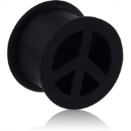 SILICONE DOUBLE FLARED PEACE TUNNEL
