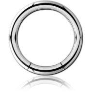 TITANIUM SMOOTH SEGMENT RING PIERCING