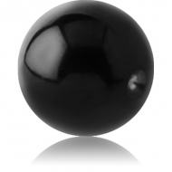 STERILE BLACK PVD COATED TITANIUM BALL FOR BALL CLOSURE RING