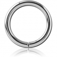 STERILE SURGICAL STEEL CONTINUOUS RING PIERCING