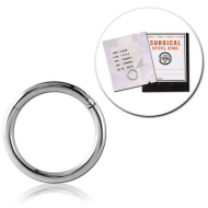 STERILE SURGICAL STEEL HINGED SEGMENT RING PIERCING