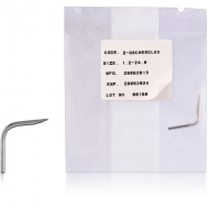 STERILE CURVED STAINLESS STEEL NEEDLE