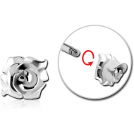 STERILE SURGICAL STEEL MICRO THREADED FLOWER ATTACHMENT